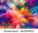 color splash series.... | Shutterstock . vector #603394415