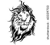 vector lion by roberto ojeda | Shutterstock .eps vector #60339703