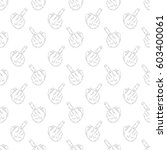 seamless pattern with the... | Shutterstock .eps vector #603400061