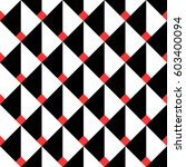 seamless geometric pattern of... | Shutterstock .eps vector #603400094