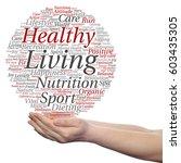 concept or conceptual healthy... | Shutterstock . vector #603435305