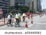 sao paulo  brazil   october 23  ... | Shutterstock . vector #603440081