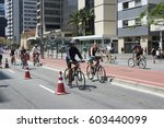 sao paulo  brazil   october 23  ... | Shutterstock . vector #603440099