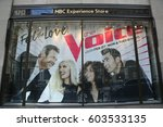 new york   march 16  2017  nbc... | Shutterstock . vector #603533135