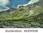 Height Tatras  - nice mountains in Slovakia - stock photo