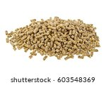 pelleted compound feed isolated ... | Shutterstock . vector #603548369