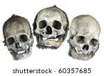 Stylized Skulls In Halloween...
