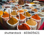 Spices At The Market. India ...