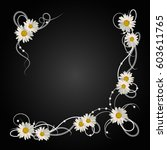 Floral Vector Background....