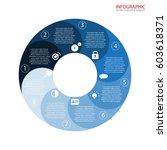 vector circle arrows... | Shutterstock .eps vector #603618371