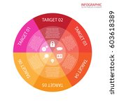 vector circle arrows... | Shutterstock .eps vector #603618389