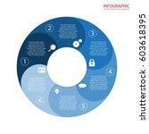 vector circle arrows... | Shutterstock .eps vector #603618395