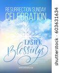 Easter Blessings  Vector Easter ...