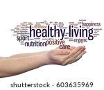 concept conceptual healthy... | Shutterstock . vector #603635969
