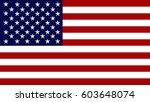 usa flag background | Shutterstock . vector #603648074