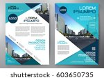 business brochure. flyer design.... | Shutterstock .eps vector #603650735
