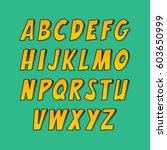 Creative Font. Vector Alphabet...