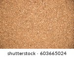 Small photo of Closed up of brown cork board texture background