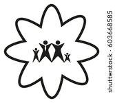family  icon | Shutterstock .eps vector #603668585