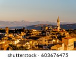 beautiful view of the... | Shutterstock . vector #603676475