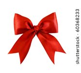 Beautiful Red Satin Gift Bow ...