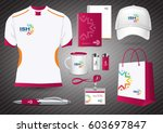 gift items  color promotional...   Shutterstock .eps vector #603697847