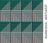 seamless vector abstract... | Shutterstock .eps vector #603716537
