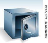 an open vault | Shutterstock .eps vector #60372133