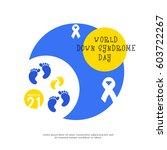illustration of world down... | Shutterstock .eps vector #603722267