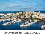 kings wharf  bermuda  may 27  ...   Shutterstock . vector #603729377