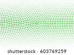 light green vector banners set... | Shutterstock .eps vector #603769259