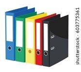 box files vector | Shutterstock .eps vector #603775361