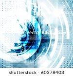 abstract technology vector... | Shutterstock .eps vector #60378403