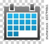 calendar icon. vector... | Shutterstock .eps vector #603794861