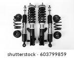 shock absorber | Shutterstock . vector #603799859