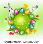 grass circle with bright... | Shutterstock . vector #603807959