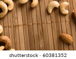 background made of cashew and... | Shutterstock . vector #60381352