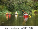 people boating on river ... | Shutterstock . vector #60381637