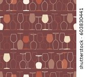 seamless pattern  pack paper... | Shutterstock .eps vector #603830441
