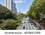 sao paulo  brazil   october 23  ...   Shutterstock . vector #603841589