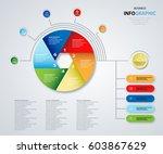 business options. marketing.... | Shutterstock .eps vector #603867629