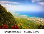 fascinating view on puerto... | Shutterstock . vector #603876299