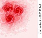 flower background | Shutterstock .eps vector #603912464