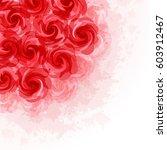 flower background | Shutterstock .eps vector #603912467