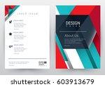 cover design vector template... | Shutterstock .eps vector #603913679