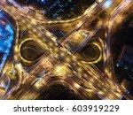 the road. infinity. | Shutterstock . vector #603919229