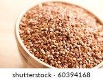 buckwheat in bowl | Shutterstock . vector #60394168