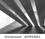 concrete architecture... | Shutterstock . vector #603943841