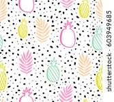 seamless vector pattern with...   Shutterstock .eps vector #603949685