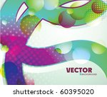 rainbow abstract background... | Shutterstock .eps vector #60395020
